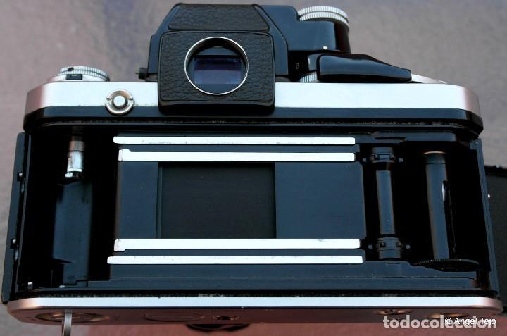 Cámara de fotos: NIKON F2 IMPECABLE con 50 F 1/2 - Foto 8 - 227966770