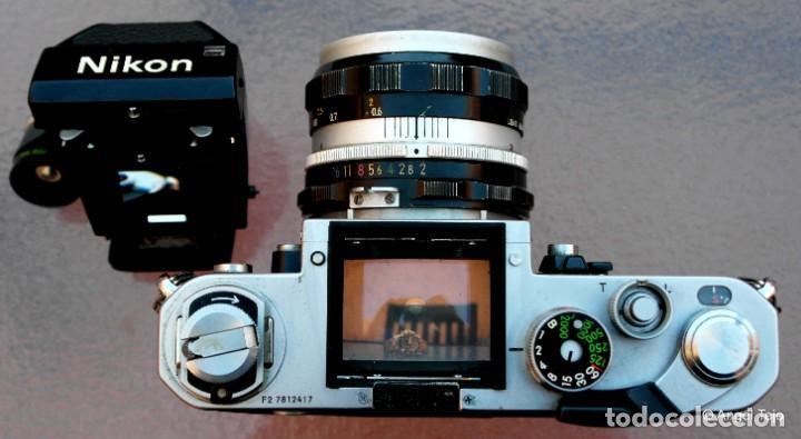 Cámara de fotos: NIKON F2 IMPECABLE con 50 F 1/2 - Foto 9 - 227966770