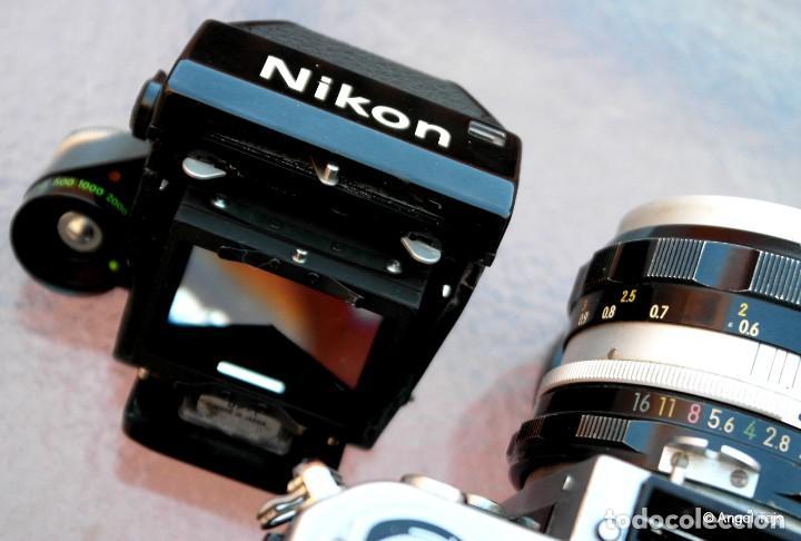 Cámara de fotos: NIKON F2 IMPECABLE con 50 F 1/2 - Foto 10 - 227966770