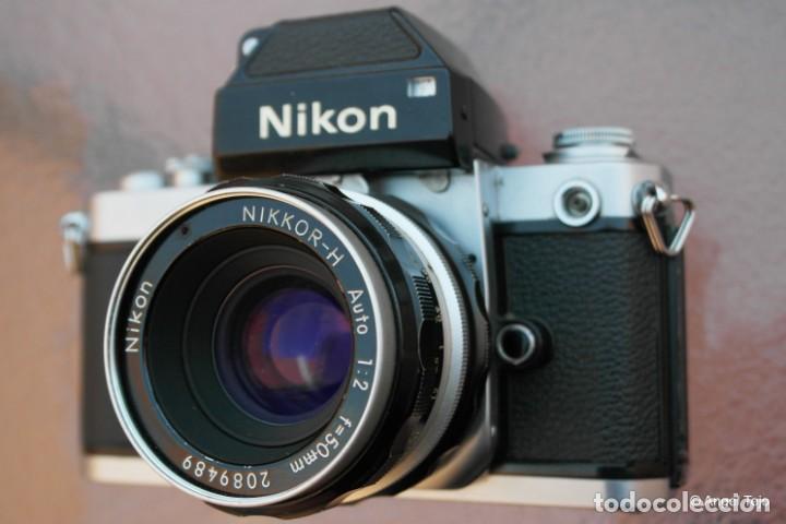 Cámara de fotos: NIKON F2 IMPECABLE con 50 F 1/2 - Foto 11 - 227966770