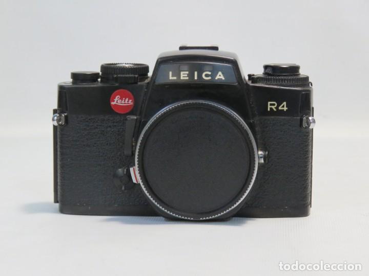 Cámara de fotos: CAMARA ANALÓGICA LEICA LEITZ R4 CON ESTUCHE ORIGINAL - Foto 3 - 228039711