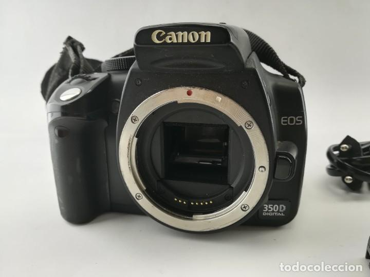 Cámara de fotos: CAMARA DIGITAL NIKON 350D PARA PIEZAS (no funciona) - Foto 2 - 228154835
