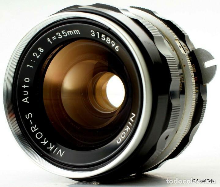 Cámara de fotos: NIKON F BLACK.con prisma SF y 35 mm F/2,8 - Foto 3 - 228159535