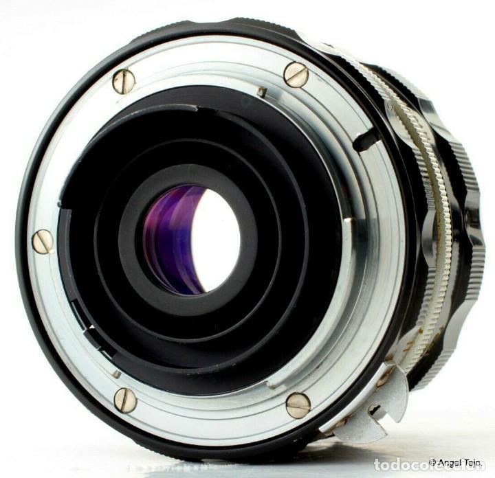 Cámara de fotos: NIKON F BLACK.con prisma SF y 35 mm F/2,8 - Foto 4 - 228159535