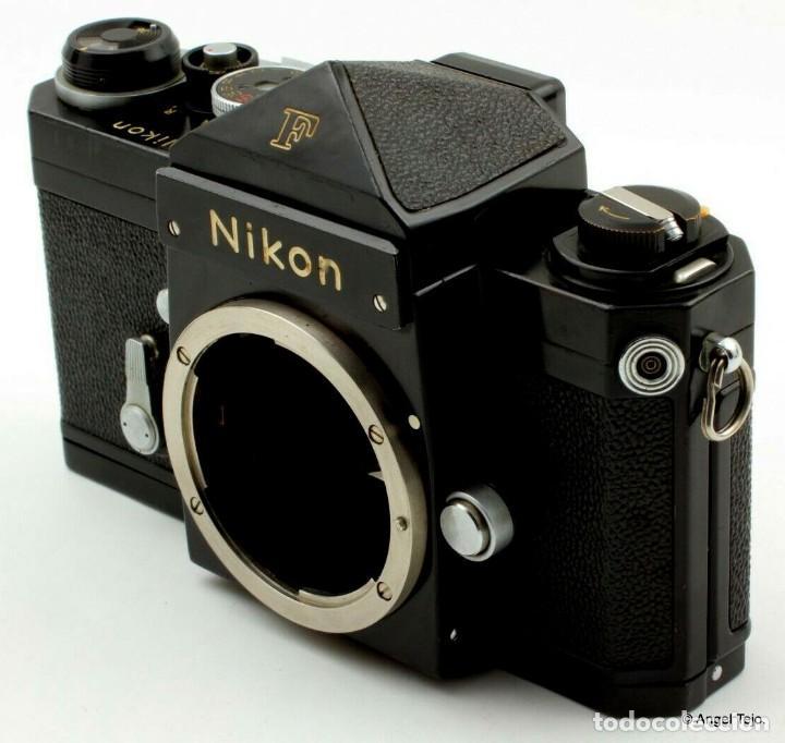 Cámara de fotos: NIKON F BLACK.con prisma SF y 35 mm F/2,8 - Foto 5 - 228159535
