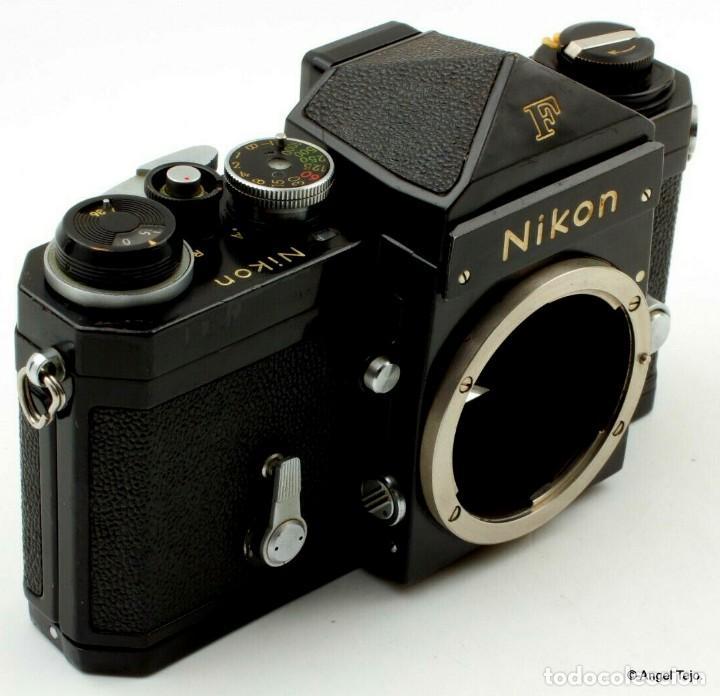 Cámara de fotos: NIKON F BLACK.con prisma SF y 35 mm F/2,8 - Foto 6 - 228159535