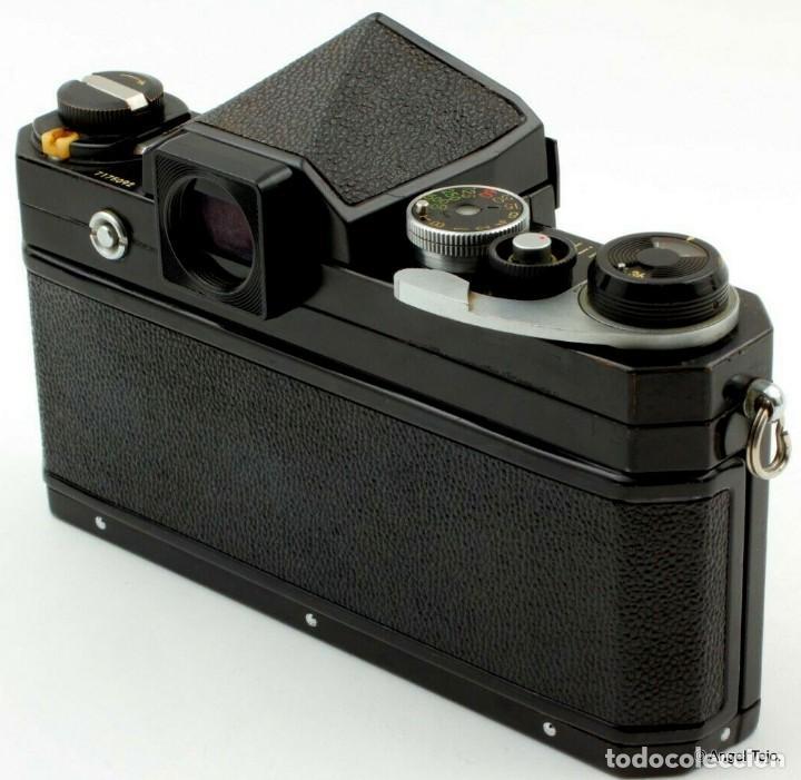 Cámara de fotos: NIKON F BLACK.con prisma SF y 35 mm F/2,8 - Foto 8 - 228159535