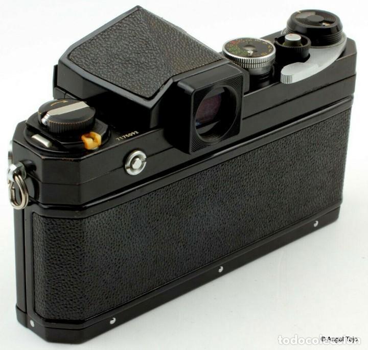 Cámara de fotos: NIKON F BLACK.con prisma SF y 35 mm F/2,8 - Foto 9 - 228159535