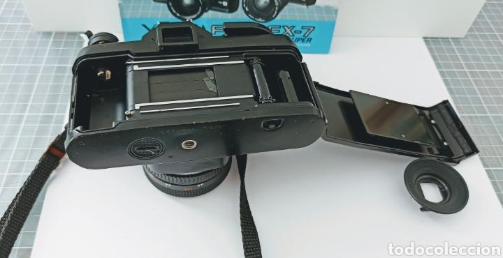 Cámara de fotos: Cámara reflex YASHICA FX -3 súper con su funda e instrucciones - Foto 2 - 228343735