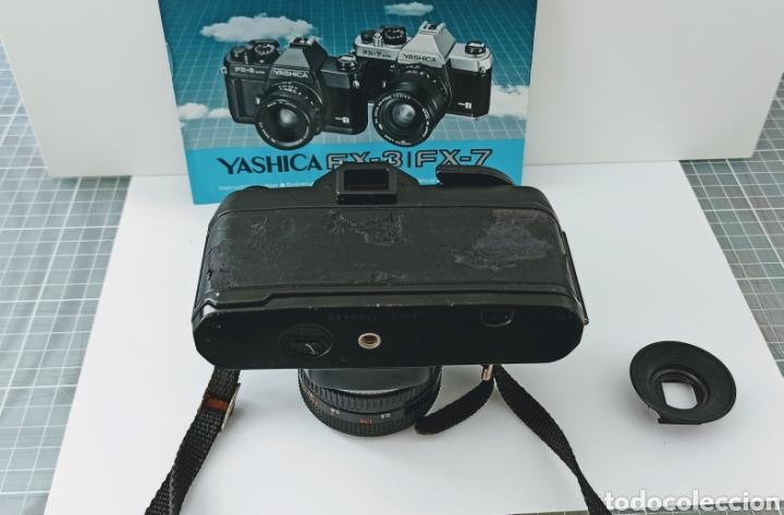Cámara de fotos: Cámara reflex YASHICA FX -3 súper con su funda e instrucciones - Foto 3 - 228343735