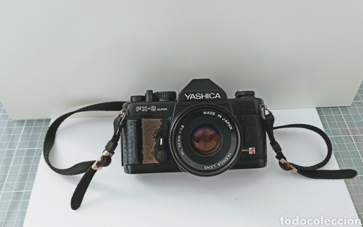 Cámara de fotos: Cámara reflex YASHICA FX -3 súper con su funda e instrucciones - Foto 4 - 228343735