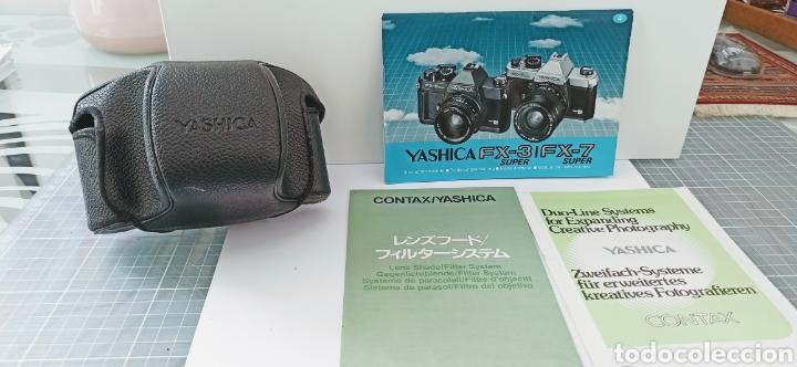 Cámara de fotos: Cámara reflex YASHICA FX -3 súper con su funda e instrucciones - Foto 5 - 228343735
