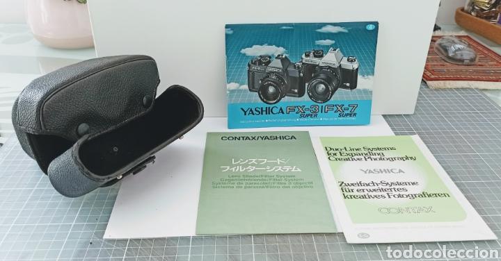Cámara de fotos: Cámara reflex YASHICA FX -3 súper con su funda e instrucciones - Foto 6 - 228343735