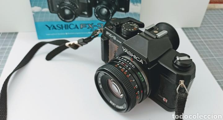 Cámara de fotos: Cámara reflex YASHICA FX -3 súper con su funda e instrucciones - Foto 8 - 228343735