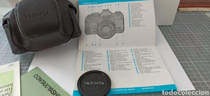 Cámara de fotos: Cámara reflex YASHICA FX -3 súper con su funda e instrucciones - Foto 9 - 228343735