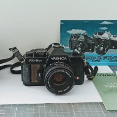 Cámara de fotos: CÁMARA REFLEX YASHICA FX -3 SÚPER CON SU FUNDA E INSTRUCCIONES. Lote 228343735
