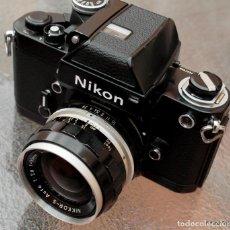 Cámara de fotos: NIKON F2 NEGRA,ESTADO EXCEPCIONAL.. Lote 229383960