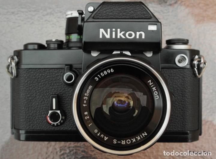 Cámara de fotos: NIKON F2 NEGRA,Estado excepcional. - Foto 3 - 229383960