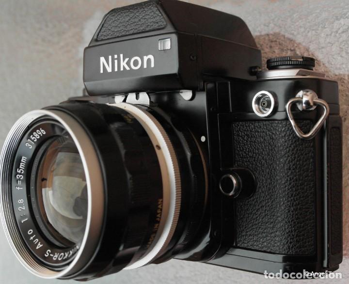 Cámara de fotos: NIKON F2 NEGRA,Estado excepcional. - Foto 4 - 229383960
