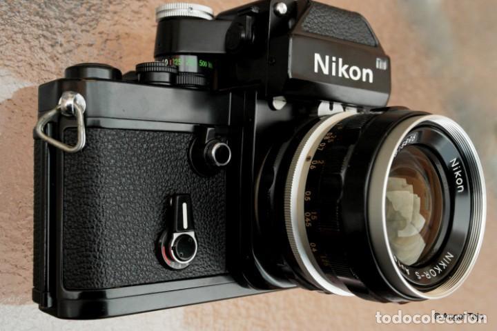 Cámara de fotos: NIKON F2 NEGRA,Estado excepcional. - Foto 5 - 229383960