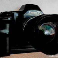 Cámara de fotos: CANON T90 CUERPO DE CÁMARA.IMPECABLE.. Lote 230018890