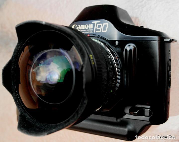 Cámara de fotos: Canon T90 CUERPO DE CÁMARA.IMPECABLE. - Foto 2 - 230018890