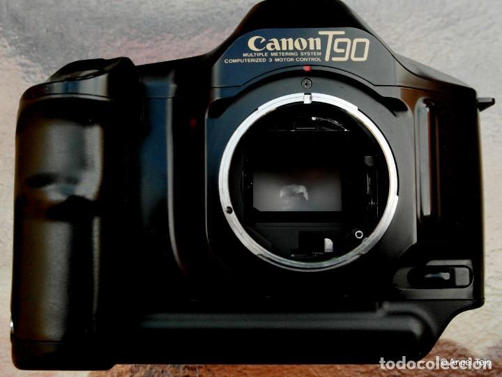 Cámara de fotos: Canon T90 CUERPO DE CÁMARA.IMPECABLE. - Foto 11 - 230018890