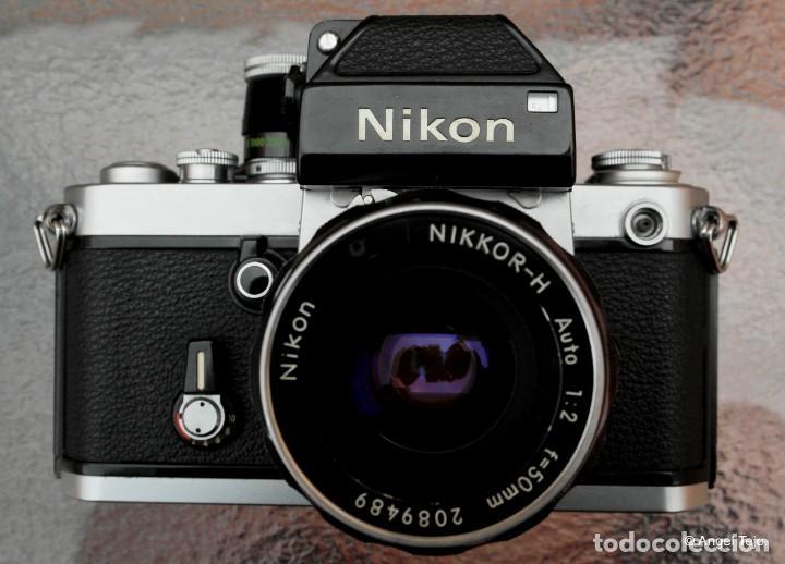 NIKON F2 CHROME, SOLO CUERPO, IMPECABLE. (Cámaras Fotográficas - Réflex (no autofoco))