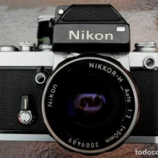 Cámara de fotos: NIKON F2 CHROME, SOLO CUERPO, IMPECABLE.. Lote 231001625
