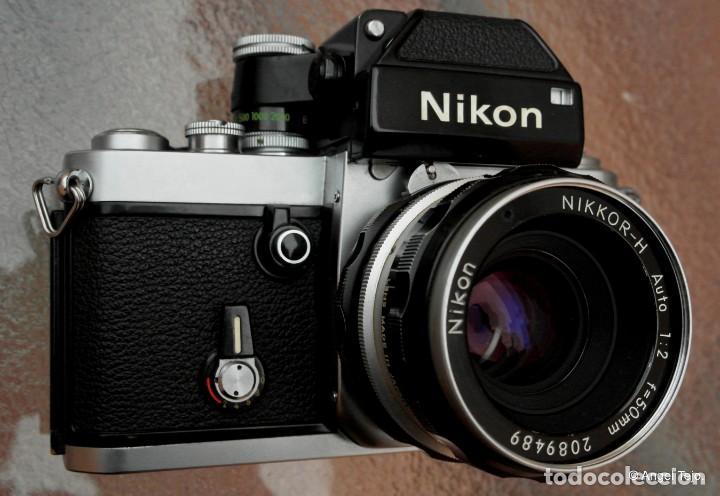 Cámara de fotos: NIKON F2 Chrome, SOLO CUERPO, impecable. - Foto 2 - 231001625