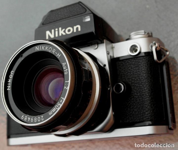 Cámara de fotos: NIKON F2 Chrome, SOLO CUERPO, impecable. - Foto 3 - 231001625