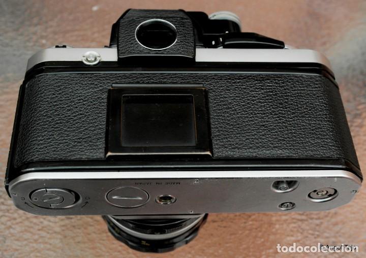 Cámara de fotos: NIKON F2 Chrome, SOLO CUERPO, impecable. - Foto 5 - 231001625