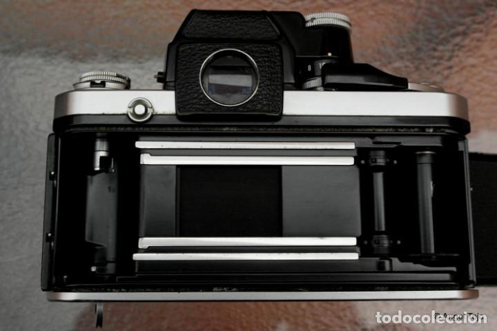 Cámara de fotos: NIKON F2 Chrome, SOLO CUERPO, impecable. - Foto 6 - 231001625