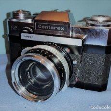 Câmaras de fotos: CAMARA ZEISS IKON CONTAREX CON SU FUNDA Y COMPLEMENTOS ORIGINALES. Lote 234515840