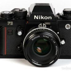 Cámara de fotos: NIKON F3 + NIKKOR 50MM/1.8 AIS. Lote 235449540