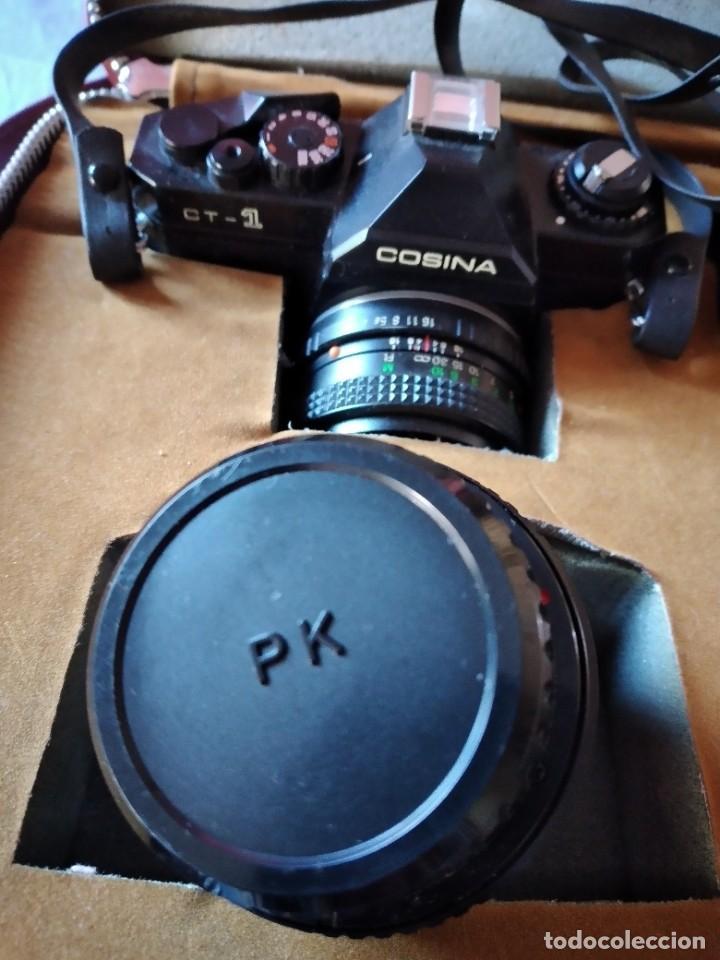Cámara de fotos: cámara de fotos cosina ct-1 + 2 objetivos + maleta original, japan. - Foto 4 - 236270770