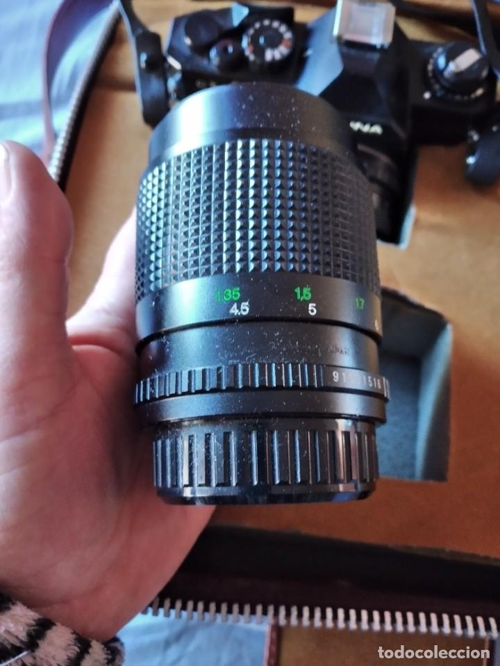 Cámara de fotos: cámara de fotos cosina ct-1 + 2 objetivos + maleta original, japan. - Foto 10 - 236270770