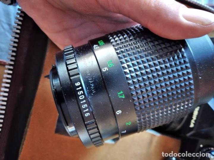 Cámara de fotos: cámara de fotos cosina ct-1 + 2 objetivos + maleta original, japan. - Foto 11 - 236270770