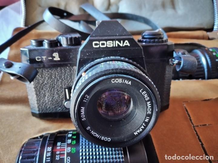 Cámara de fotos: cámara de fotos cosina ct-1 + 2 objetivos + maleta original, japan. - Foto 12 - 236270770