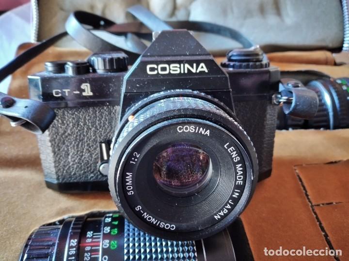 Cámara de fotos: cámara de fotos cosina ct-1 + 2 objetivos + maleta original, japan. - Foto 13 - 236270770