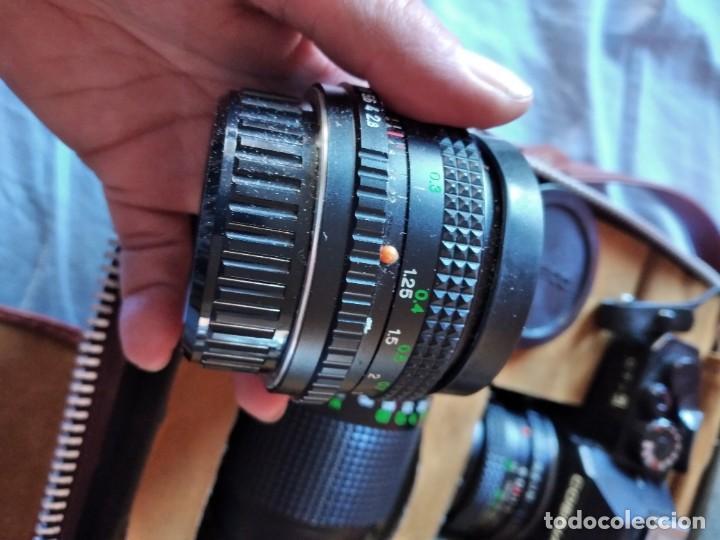 Cámara de fotos: cámara de fotos cosina ct-1 + 2 objetivos + maleta original, japan. - Foto 18 - 236270770
