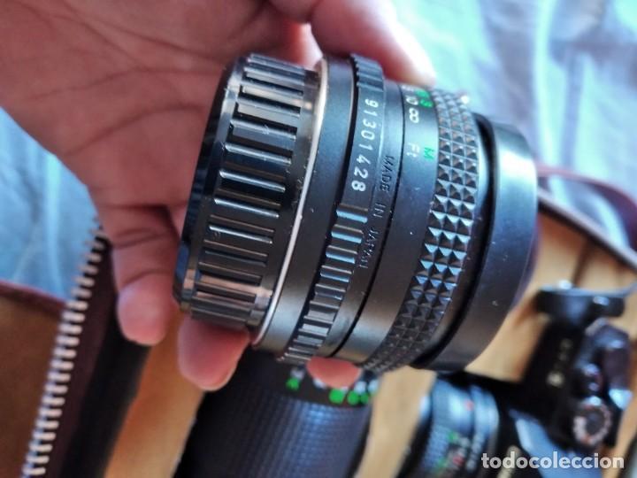 Cámara de fotos: cámara de fotos cosina ct-1 + 2 objetivos + maleta original, japan. - Foto 19 - 236270770