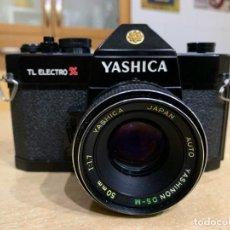 Cámara de fotos: YASHICA TL ELECTRO X ITS. Lote 238728120