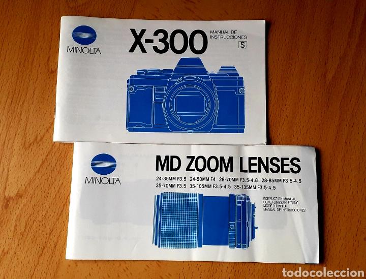 Cámara de fotos: CÁMARA MINOLTA X-300S - Foto 14 - 240173175
