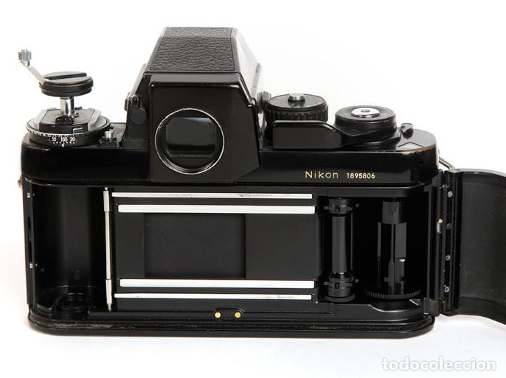 Cámara de fotos: NIKON F3 HP + MOTOR NIKON MD-4 + NIKKOR 50MM F1.8 AIS - Foto 7 - 240734980