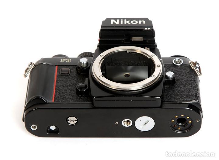 Cámara de fotos: NIKON F3 HP + MOTOR NIKON MD-4 + NIKKOR 50MM F1.8 AIS - Foto 9 - 240734980