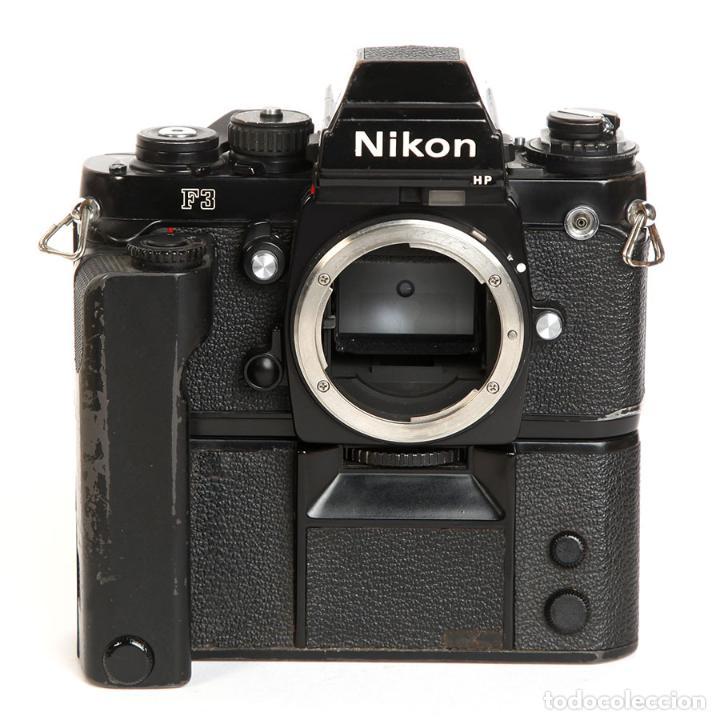 Cámara de fotos: NIKON F3 HP + MOTOR NIKON MD-4 + NIKKOR 50MM F1.8 AIS - Foto 11 - 240734980