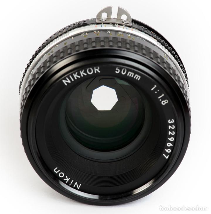 Cámara de fotos: NIKON F3 HP + MOTOR NIKON MD-4 + NIKKOR 50MM F1.8 AIS - Foto 12 - 240734980