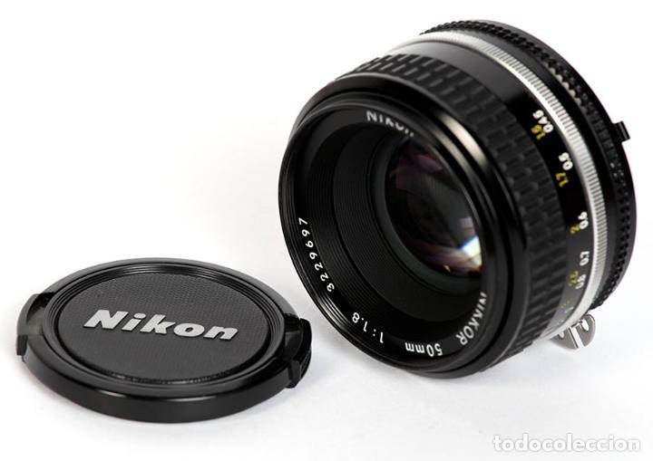 Cámara de fotos: NIKON F3 HP + MOTOR NIKON MD-4 + NIKKOR 50MM F1.8 AIS - Foto 8 - 240734980