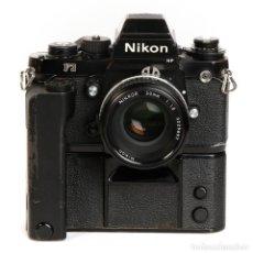 Cámara de fotos: NIKON F3 HP + MOTOR NIKON MD-4 + NIKKOR 50MM F1.8 AIS. Lote 240734980